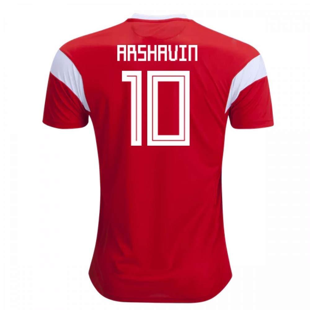 2018-19 Russia Home Football Soccer T-Shirt Trikot (Andrei Arshavin 10) - Kids