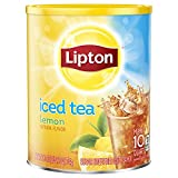 Lipton Iced Tea Mix, Lemon - 25.1 Ounce