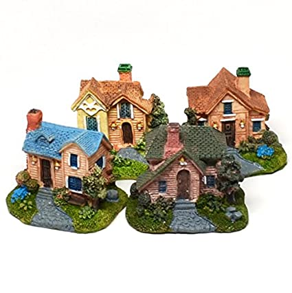 Magnificent Pixie Glare Miniature Houses Colonial Detailed Realistic Look Colonial A 4 Pack Download Free Architecture Designs Scobabritishbridgeorg