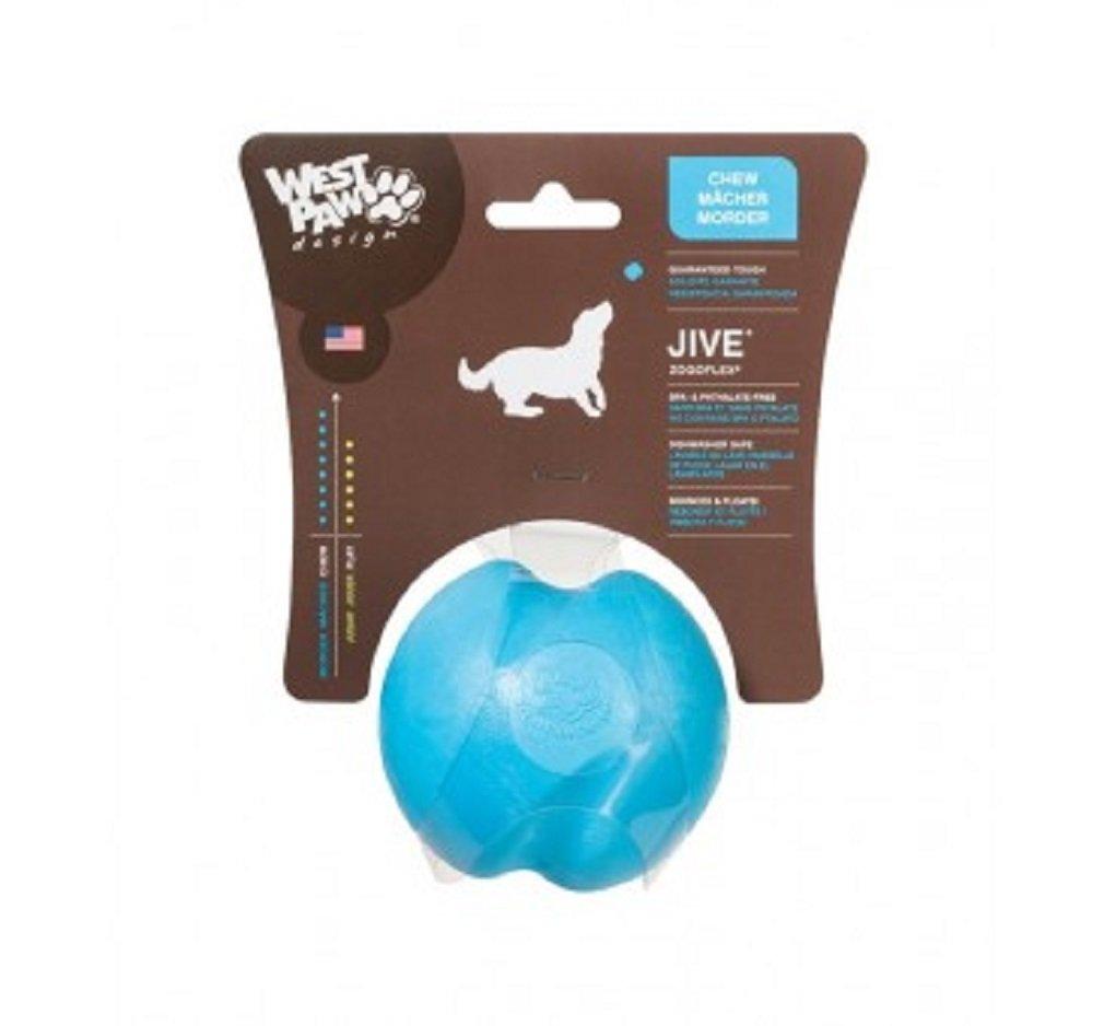 JIVE DOG CHEW BALL AQUA