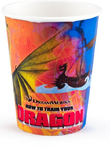 How To Train Your Dragon Party Paper Cups