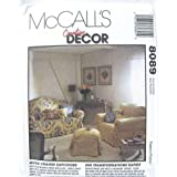 McCall's 8089 Home Decor Slipcovers Pattern - Sofa, Chair and Ottoman