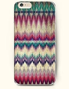 SevenArc Aztec Indian Chevron Zigzag Pattern Hard Case for Apple iPhone 6 Plus 5.5' (2014) Retro Traditional Aztec...
