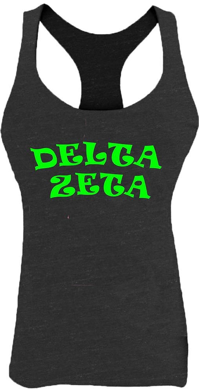 KYS Womens Delta Zeta Racerback Tank Top