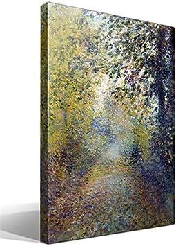 Cuadro Canvas En Las Maderas de Pierre Auguste Renoir