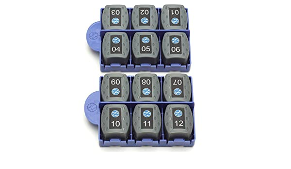 12 pk electronic consumer IDEAL 158053 VDV II Coaxial Remotes