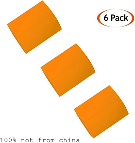 Tailor Chalk Fabric Chalk Made in Canada Wax Based Tailors Chalk by SEWTCO Orange 6 Pack Fabric Chalk for Sewing Tailors Chalk