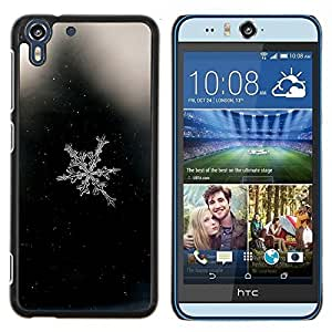 Stuss Case / Funda Carcasa protectora - Ventana blanca de cristal - HTC Desire Eye M910x