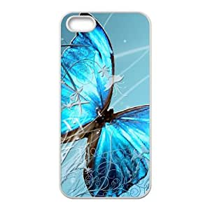 ANCASE Diy Butterfly Selling Hard Back Case for Iphone 5 5g 5s