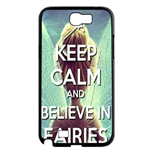 Keep Calm Samsung Galaxy Note 2 Cases, Tyquin {Black}