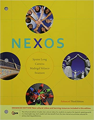 Bundle: Nexos, Enhanced, 3rd + iLrn™ Heinle Learning Center 4 terms (24-Months) Printed Access Card 3rd Edition