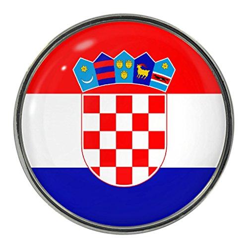 Croatia Flag Design Pin Badge ()