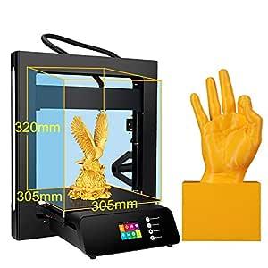 TONGDAUR Impresora 3D A5S actualizada con Fuente de alimentación ...