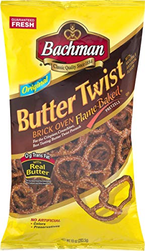 Bachman Butter Twist Pretzels 10 oz. Bag (3 Bags) ()