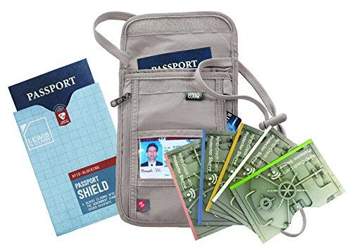 TRAVEL Lewis Clark Passport sleeves product image
