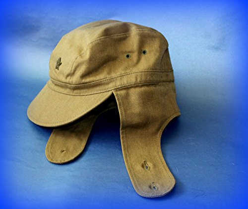 [CYBER MONDAY SALE!!! USSR Russian Military Afghanistan soldier Cap +Pin Hat field forage size 57] (Sheriff Hats For Sale)