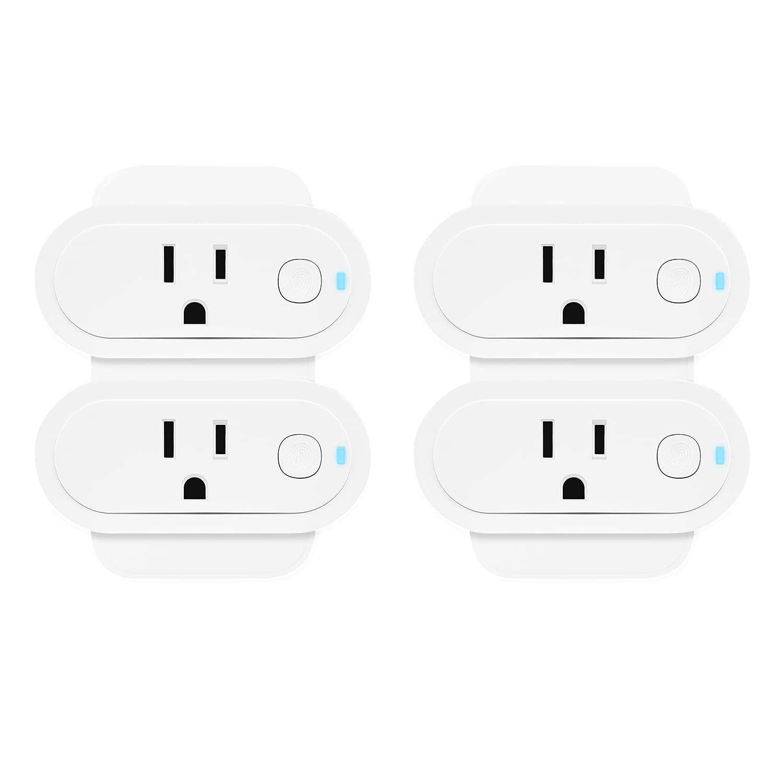 Sengled Smart Plug Works with Alexa Google Home, SmartThings, Homekit, Amazon Smart Plug Energy Monitoring, Smart Outlet Remote Control, 15A Smart Socket Hub Required, Timer, UL ETL FCC Listed, 4 Pack