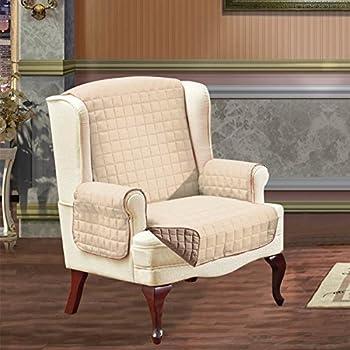 Amazon Com Home Fashion Designs Reversible Chair Cover