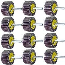 """50 1/""""x 1/""""x1//4/"""" Premium Flap Wheels Aluminum Oxide Sanding Disc 120 Grit"""
