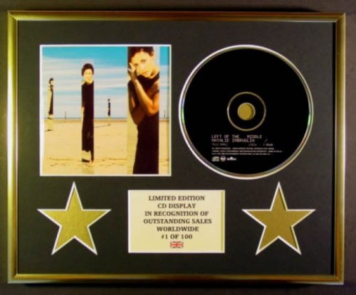 NATALIE IMBRUGLIA/CADRE CD/EDITION LIMITEE/CERTIFICAT D'AUTHENTICITE/LEFT OF THE MIDDLE Everythingcollectible PW-HURR-Q6M6