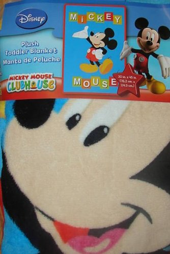 Disney Mickey Mouse Clubhouse Plush Toddler Blanket