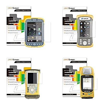 Anti-Glare or Ultra Clear Screen Protectors for TOPCON Devices (Many Sizes Available) from JAVOedge