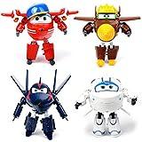 Super Wings Season 2 New Character Transforming Robot 4 Pk - Flip, Todd, Chace, Astar 5