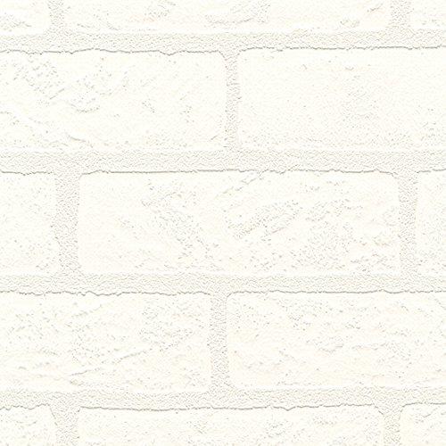 シンコール  壁紙30m  レンガタイル調  ホワイト  BB-8445 B075CSFL7Z 30m|ホワイト