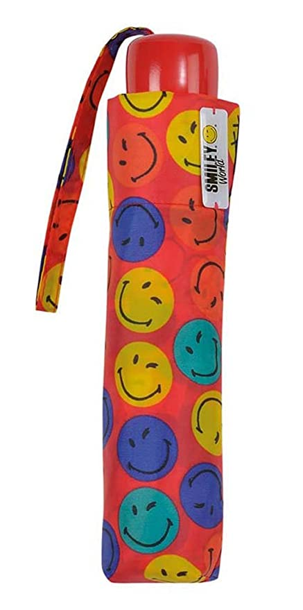 Paraguas plegable infantil Smiley