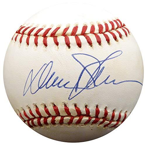 Davey Johnson Autographed Official NL Baseball New York Mets, Baltimore Orioles Beckett BAS #F29213