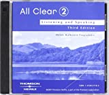 download ebook all clear 2: listening and speaking, 3rd edition pdf epub