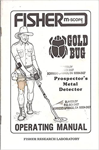 Fisher M-Scope Gold Bug Prospectors Metal Detector Operating Manual. miningz Paperback – 1970