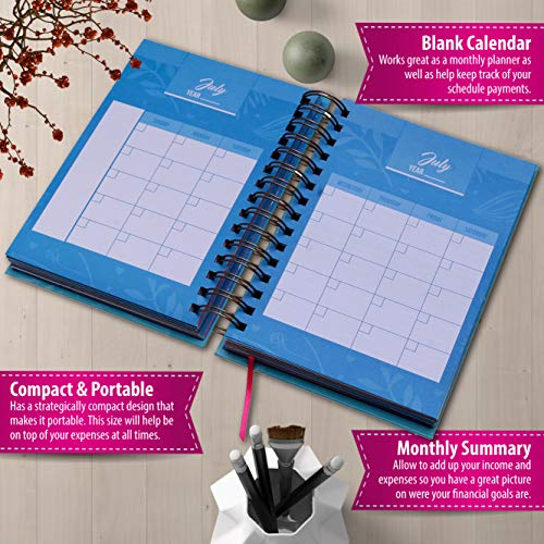 bill organizer budget planner book monthly budget notebook and