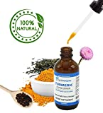 Organic Turmeric Curcumin Concentrated Liquid Drops with Bioperine by Age Immune – Fights Pain Caused by Inflammation, Supports Healthy Joints For Sale