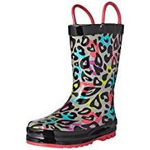 Western Chief Kids Groovy Leopard Rain Boots