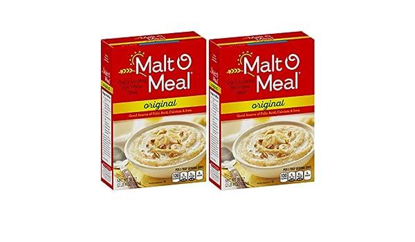 Post Malt-O-Meal Hot Cereal, Original, 36 Ounce(2 Pack)