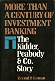 More Than a Century of Investment Banking, Vincent P. Carosso, 0070101361