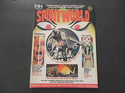 Spirit World #1 Fall 1971 Bronze Age BW Magazine Jack Kirby (Spirit Kirby Jack World)