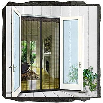 Surpass 72 Quot W X 80 Quot H Magnetic Screen Door For French