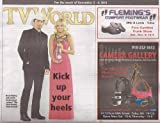 Brad Paisley, Carrie Underwood, The 47th Annual Country Music Association Awards (CMA's), Karl Urban, Almost Famous, Trisha Yearwood - November 3-9, 2013 TV World Magazine [REGIONAL OVER-SIZED TV DIRECTORY, NOT A DVD]
