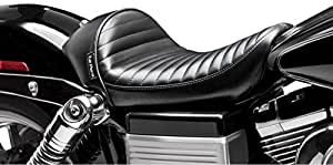 Le Pera Stubs Pleated Cafe Asiento Harley Davidson Dyna 2006-2015
