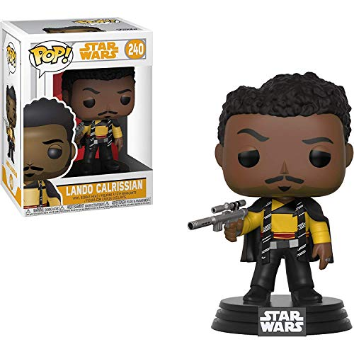 Funko Lando Calrissian: Solo - A Star Wars Story x POP! Vinyl Figure + 1 Official Star Wars Trading Card Bundle [#240/26982]