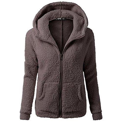 smartland-womens-winter-long-sleeve-full-zip-soft-fleece-hooded-jumper-hoody-jacket-coat-xl-brown