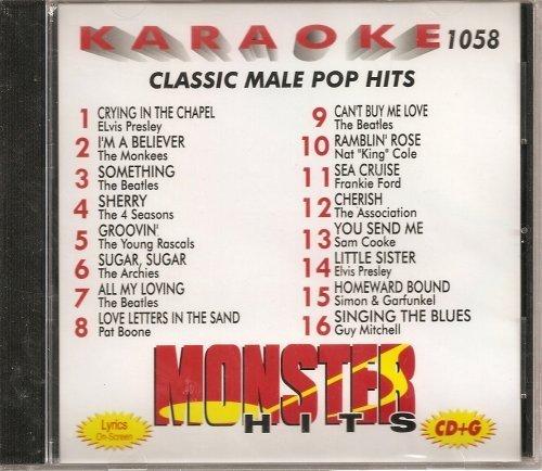 Monster #1058 Karaoke CDG MALE CLASSIC POP & OLDIES by N/A (0100-01-01)
