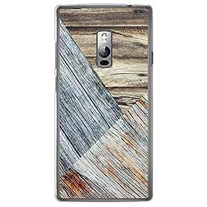 Loud Universe OnePlus 2 Madala N Marble A Wood 7 Printed Transparent Edge Case - Multi Color