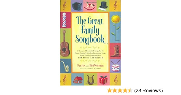 Amazon com: Great Family Songbook: A Treasury of Favorite Folk Songs