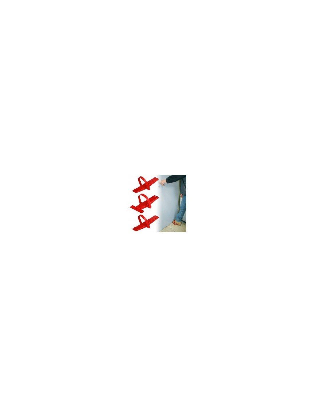 Outifrance 8839040 Lève-panneaux à pieds avec roulettes 60 mm