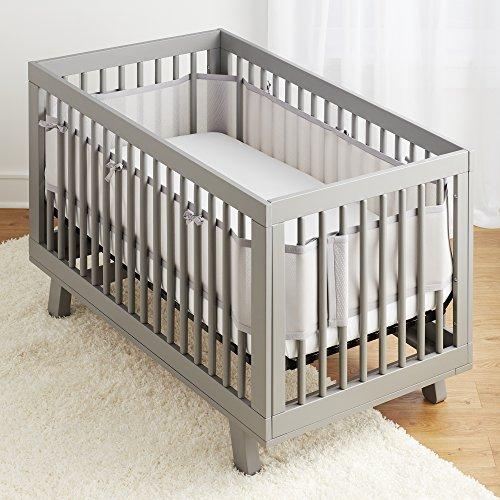 Buy mesh crib bumper