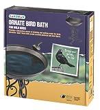 Ornate Steel Bird Bath