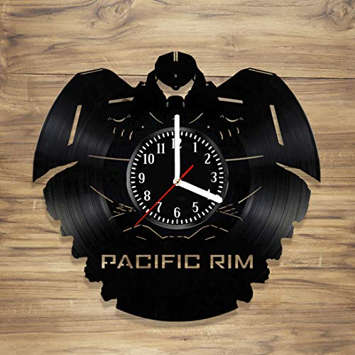Pacific Rim Vinyl Record Wall Clock Ron Perlman War Monster
